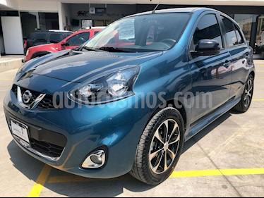 Foto venta Auto usado Nissan March SR NAVI (2018) color Turquesa precio $180,000
