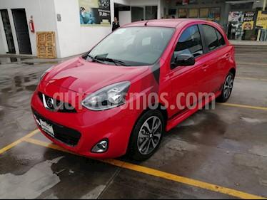 Foto Nissan March SR NAVI usado (2019) color Rojo precio $210,000