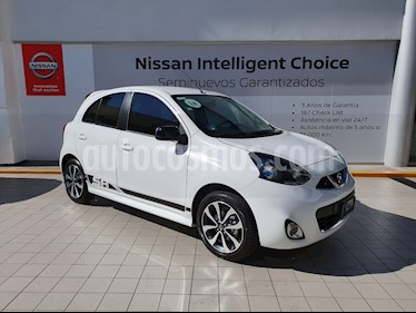 Foto venta Auto usado Nissan March SR NAVI (2018) color Blanco precio $213,000