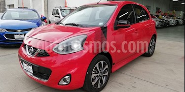 Foto venta Auto usado Nissan March SR NAVI (2017) color Rojo precio $180,000