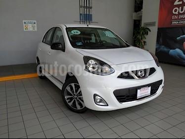 Foto venta Auto usado Nissan March SR NAVI (2018) color Blanco precio $230,000