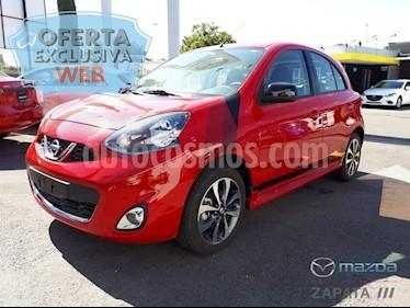 Nissan March SR NAVI usado (2018) color Rojo precio $185,000