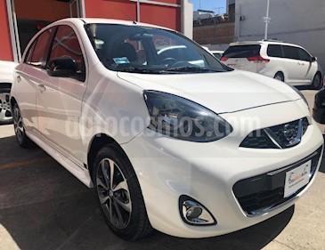 Foto venta Auto usado Nissan March SR (2016) color Blanco precio $176,000