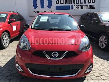 Foto venta Auto usado Nissan March SR (2017) color Rojo precio $165,000