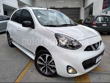 Foto venta Auto usado Nissan March SR (2018) color Blanco precio $183,000