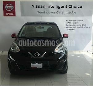 Foto venta Auto usado Nissan March Unlimited (2016) color Negro precio $160,000