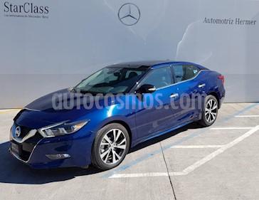 Foto venta Auto usado Nissan Maxima 3.5 Exclusive (2017) color Azul precio $499,900