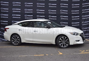 Nissan Maxima 3.5 SR  usado (2017) color Blanco precio $330,000