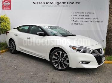 Foto venta Auto usado Nissan Maxima 3.5 SR (2017) color Blanco precio $459,000