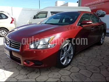 Nissan Maxima 3.5 SR usado (2013) color Rojo precio $170,000
