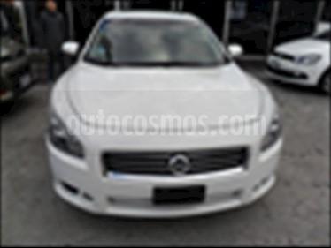 Foto venta Auto usado Nissan Maxima 4P EXCLUSIVE V6 3.5 AUT (2014) color Blanco precio $259,000