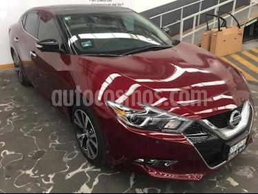 Foto venta Auto usado Nissan Maxima 4p Exclusive V6/3.5 Aut (2017) color Rojo precio $499,000
