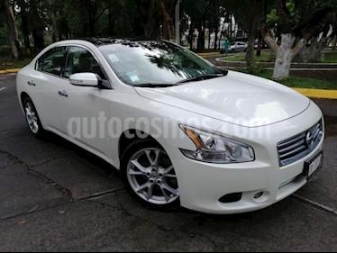 Foto venta Auto usado Nissan Maxima 4p Exclusive V6/3.5 Aut (2015) color Blanco precio $269,000