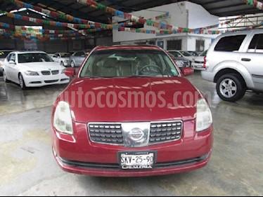 Nissan Maxima SE Touring CVT usado (2004) color Vino Tinto precio $70,000