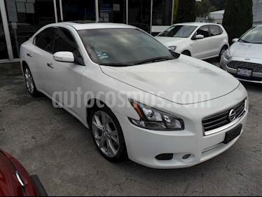 Nissan Maxima 4p Exclusive V6/3.5 Aut usado (2014) color Blanco precio $235,000