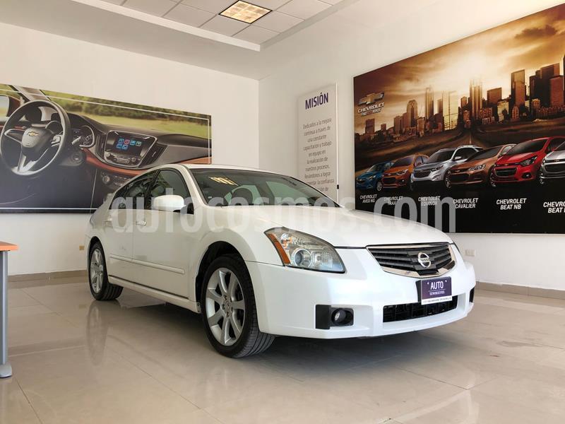 Nissan Maxima SE Touring CVT usado (2007) color Blanco precio $95,000