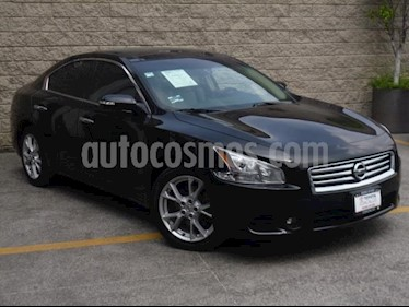 Nissan Maxima 4p Exclusive V6/3.5 Aut usado (2014) color Negro precio $199,000