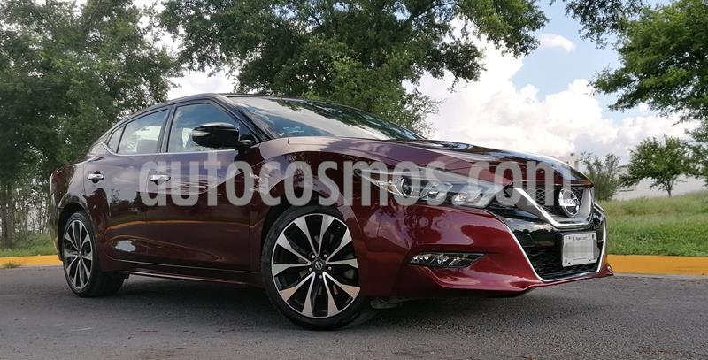 Nissan Maxima 3.5 SR  usado (2016) color Rojo precio $299,000