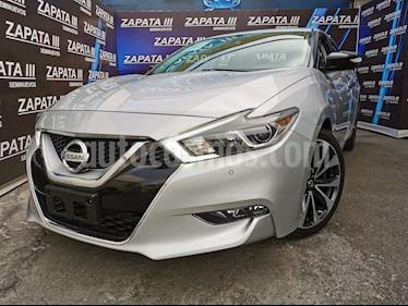 Nissan Maxima 3.5 SR  usado (2017) color Plata precio $386,000