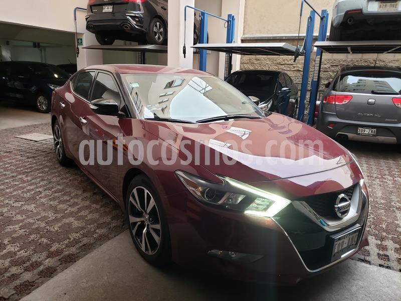 Nissan Maxima 3.5 Advance usado (2017) color Rojo precio $310,000