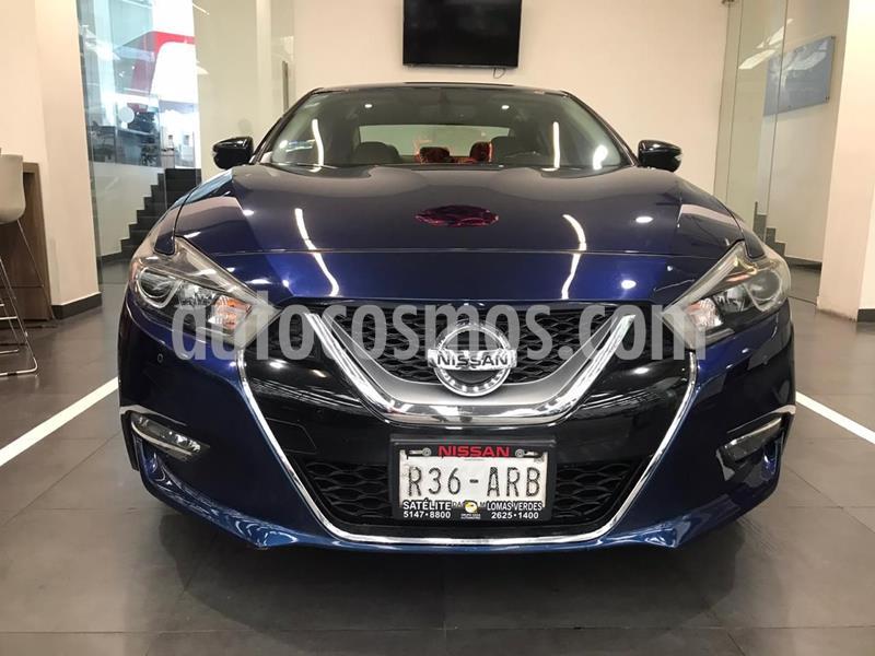 Nissan Maxima 3.5 SR usado (2016) color Azul precio $319,900