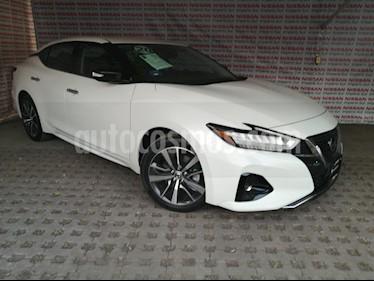 Nissan Maxima 3.5 Advance usado (2020) color Blanco precio $549,000