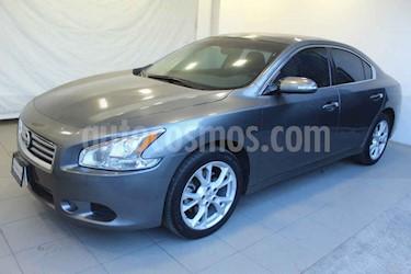 Nissan Maxima 4p Exclusive V6/3.5 Aut usado (2014) color Gris precio $215,000