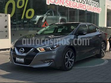 Nissan Maxima 4p Exclusive V6/3.5 Aut usado (2016) color Gris precio $339,000