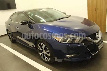 Nissan Maxima 4p Exclusive V6/3.5 Aut usado (2016) color Azul precio $375,000