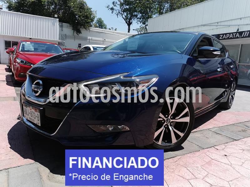 Nissan Maxima Exclusive usado (2016) color Azul precio $83,000