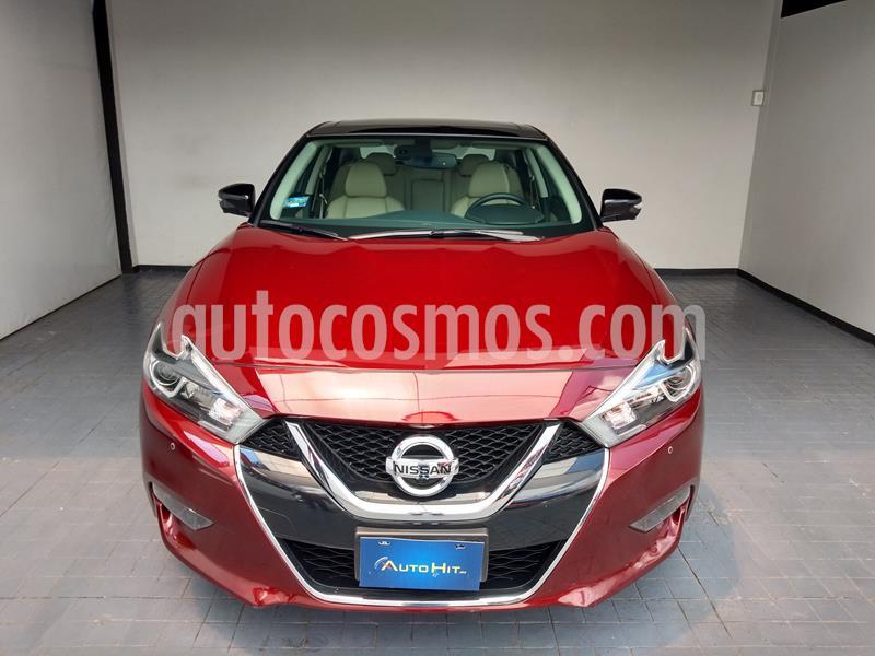 Nissan Maxima Exclusive usado (2018) color Rojo precio $475,000