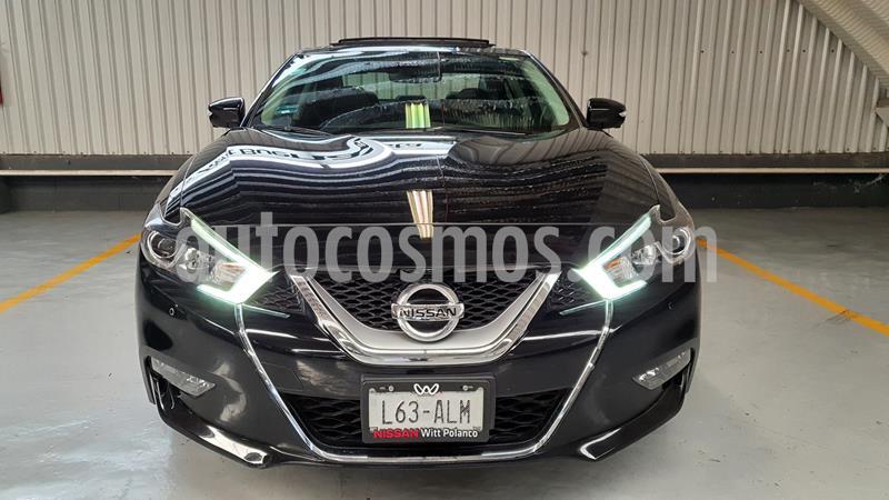 Nissan Maxima 3.5 Exclusive usado (2016) color Negro precio $355,000