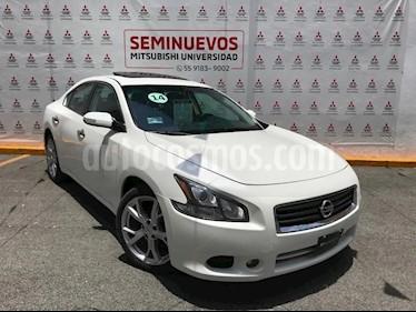 Nissan Maxima Sport usado (2014) color Blanco precio $215,000