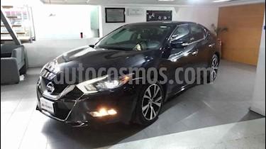 Nissan Maxima 4p Exclusive V6/3.5 Aut usado (2016) color Negro precio $370,000