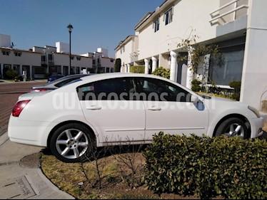 Foto venta Auto usado Nissan Maxima SE Touring (2005) color Blanco precio $75,000