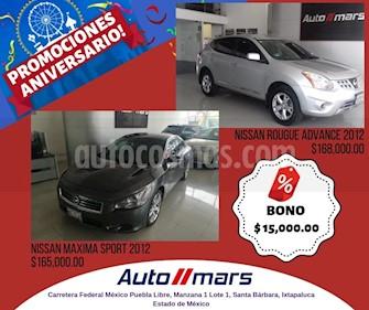 Foto venta Auto usado Nissan Maxima Sport (2012) color Gris precio $165,000