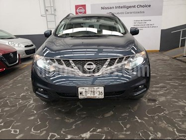 Foto venta Auto usado Nissan Murano 5p Exclusive V6/3.5 Aut AWD (2012) color Azul precio $229,900