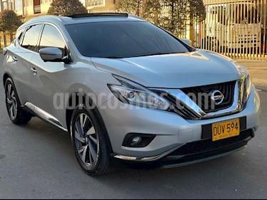 Nissan Murano Exclusive usado (2018) color Gris precio $73.000.000