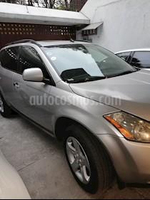 Foto venta Auto usado Nissan Murano Exclusive AWD (2005) color Plata precio $99,000
