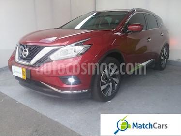 Nissan Murano Exclusive usado (2016) color Rojo Perla precio $92.990.000