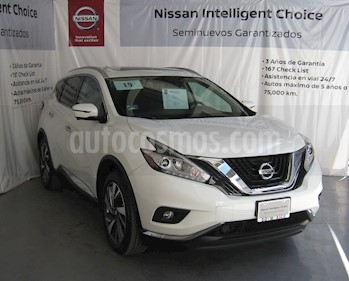 Foto venta Auto usado Nissan Murano Exclusive (2019) color Blanco precio $670,000
