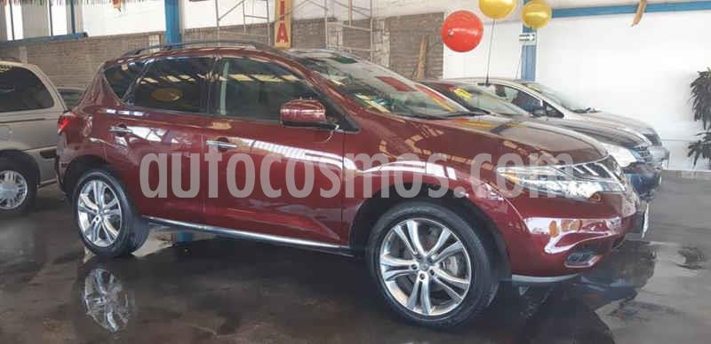 Nissan Murano LE AWD usado (2012) color Rojo precio $228,000