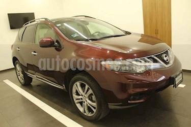 Nissan Murano 5p Exclusive V6 3.5L aut AWD usado (2013) color Vino Tinto precio $249,000