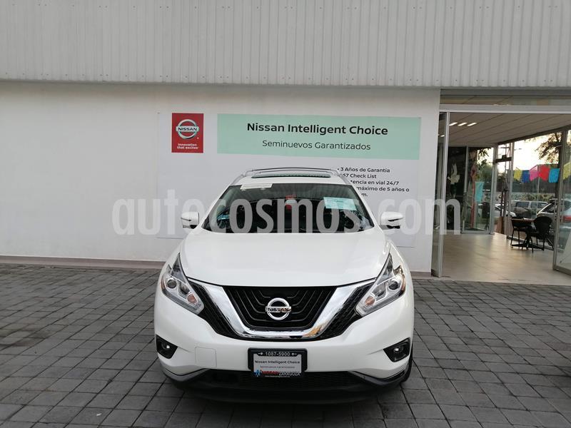Nissan Murano Exclusive AWD usado (2019) color Blanco precio $529,000