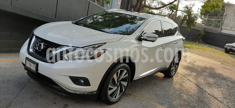 Nissan Murano Exclusive AWD usado (2019) color Blanco precio $620,000