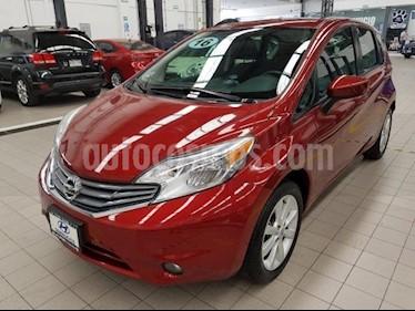 Foto venta Auto usado Nissan Note 5p Advance L4/1.6 Aut (2016) color Rojo precio $179,000