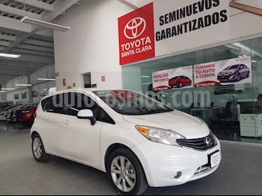 Foto venta Auto usado Nissan Note 5p Advance L4/1.6 Aut (2014) color Blanco precio $145,000