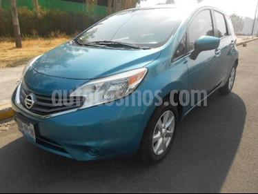 Foto venta Auto usado Nissan Note 5p Sense L4/1.6 Aut (2016) color Azul precio $170,000