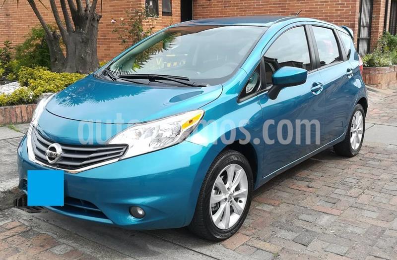 Nissan Note Advance Aut usado (2015) color Azul precio $25.000.000