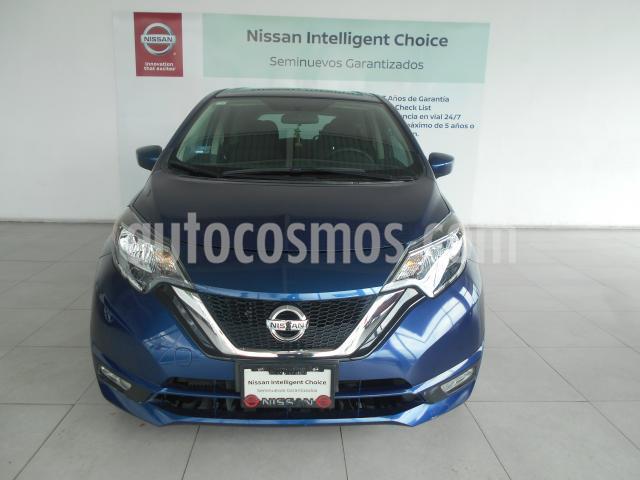 Nissan Note 5P ADVANCE L4/1.6 AUT usado (2018) color Azul precio $212,000